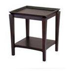 Winsomewood -  Finley End Table in Dark Espresso 0021713923219