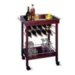 Winsomewood -  Winsome Wood Bar Cart, Espresso Finish 0021713923295