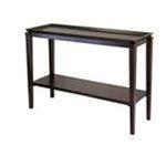 Winsomewood -  Finley Console Table in Dark Espresso 0021713923455