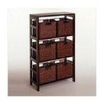 Winsomewood -  Leo Storage Shelf and Baskets 0021713926104