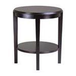 Winsomewood -  Winsome Wood Nadia End Table - Oval - 20 x 22.0 - Wood - Dark Espresso 0021713926173