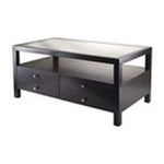 Winsomewood -  Copenhagen Coffee Table with 2 Drawers 0021713926395