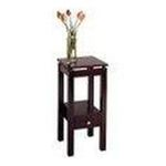 Winsomewood -  Contemporary Espresso Finish Accent Table Phone Stand 0021713927149
