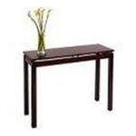 Winsomewood -  Espresso Finish Accent Sofa Console Hallway Table 0021713927309