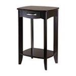 Winsomewood -  Danica Side Table in Dark Espresso 0021713928207