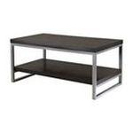 Winsomewood -  Winsome Wood Jared Cofffee Table - Rectangle - 22 x 40 x 18.5 - Wood, Metal - Dark Espresso 0021713934406