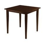 Winsomewood -  Groveland Square Dining Table in Antique Walnut 0021713940353