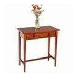 Winsomewood -  Walnut Finish Sofa Console Hallway Table w/Drawers 0021713943293