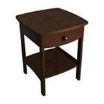 Winsomewood -  Winsome Wood Montibello Marble Top End Table - 24.0 Height - Wood 0021713949189
