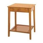 Winsomewood -  Honey Pine Finish Home Office Printer Stand/Side Table 0021713993236