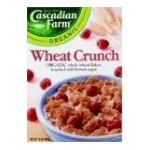 Cascadian Farm - Wheat Crunch 0021908133324  / UPC 021908133324