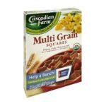 Cascadian Farm - Organic Multi Grain Squares 0021908133331  / UPC 021908133331