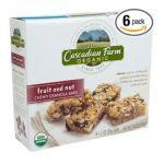 Cascadian Farm - Chewy Granola Bars Fruit & Nut 0021908134727  / UPC 021908134727