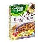 Cascadian Farm - Raisin Bran Cereal 0021908134932  / UPC 021908134932