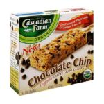Cascadian Farm - Chewy Granola Bars Chocolate Chip 0021908291024  / UPC 021908291024