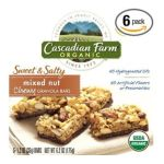 Cascadian Farm - Chewy Granola Bars Sweet & Salty Mixed Nut 0021908407746  / UPC 021908407746