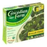 Cascadian Farm - Broccoli Florets 0021908500287  / UPC 021908500287