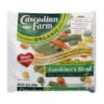 Cascadian Farm - Gardener's Blend Corn Carrot Green Beans 0021908504018  / UPC 021908504018