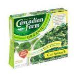 Cascadian Farm - Gourmet Cut Spinach 0021908505077  / UPC 021908505077