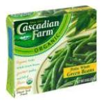 Cascadian Farm - Green Beans 0021908505183  / UPC 021908505183