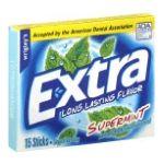 Wrigley -  Gum Sugarfree Supermint 15 sticks 0022000005175