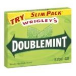 Wrigley -  Gum Doublemint 1 pack,15 sticks 0022000006660