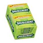 Wrigley -  Doublemint Chewing Gum Slim Pack 15 Sticks Pack 10 ea 0022000006974