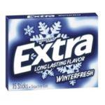 Wrigley -  Extra Sugar Free Chewing Gum Winter Fresh 15 Sticks Pack 15 sticks 0022000008404