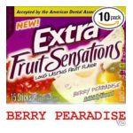 Wrigley -  Gum Sugarfree Berry Pearadise 15 sticks 0022000008442