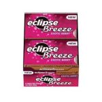 Wrigley -  Eclipse Breeze Exotic Berry Sugar Free Chewing Gum 12 Pack 12 piece 0022000010339