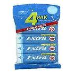 Wrigley -  Gum Sugarfree Peppermint 4 - 5 stick package 0022000054166