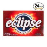 Wrigley -  Eclipse Cinnamon Inferno Sugarfree Gum 144 piece 0022000102461