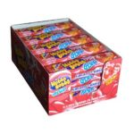 Wrigley -  Hubba Bubba Glop Strawberry Gush Liquid Filled Bubble Gum 15 Packges Total 0022000103901