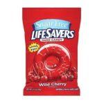 Wrigley -  Lifesavers Sugar Free Wild Cherry Hard Candy 2.75 Ea 0022000114242
