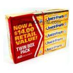 Wrigley -  Juicy Fruit Gum 40 5-stick Packages 200 sticks 0022000115737