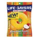 Wrigley -  Lifesaver Hawaiian Fruits Hard Candy Peg Bag 6.25 Bag 0022000118011