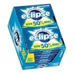 Wrigley -  Eclipse Sugar Free Gum Peppermint 144 piece 0022000119445