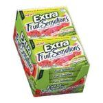 Wrigley -  Extra Fruit Sensations Sweet Watermelon Slim Pack 0022000159519