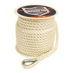 Attwood -  Attwood Nylon Twisted Anchor Line with Thimble 0022697117090