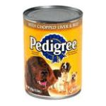 Pedigree - Food For Dogs With Chopped Liver & Beef 0023100010083  / UPC 023100010083