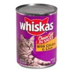 Whiskas - Food For Cats & Kittens 0023100010601  / UPC 023100010601