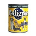 Pedigree - Food For Dogs With Chunky Beef & Chicken 0023100011141  / UPC 023100011141