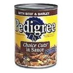 Pedigree - Food For Dogs Beef & Barley 0023100015354  / UPC 023100015354