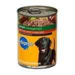 Pedigree - Food For Overweight Adult Dogs 0023100019130  / UPC 023100019130
