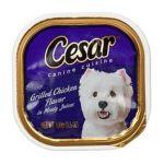 César - Canine Cuisine Grilled Chicken Flavor 0023100024523  / UPC 023100024523