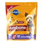 Pedigree - Jumbone Meaty Center Small Snack Food For Dogs 0023100102238  / UPC 023100102238