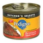 Pedigree - Food For Dogs Premium Ground Entrees Porterhouse Steak Flavor 0023100222417  / UPC 023100222417