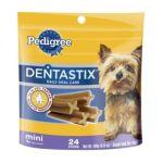 Pedigree - Dentastix Mini Treats For Toy Small Dogs 0023100277899  / UPC 023100277899