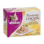 Whiskas - Cat Food Purrfectly Chicken Variety 0023100280011  / UPC 023100280011