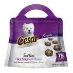 César - Cesar Softies Filet Mignon Flavor Dog Treat Bags 0023100333007  / UPC 023100333007